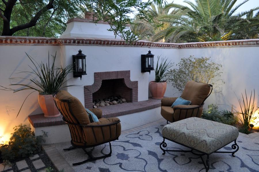 Fireplace Seating