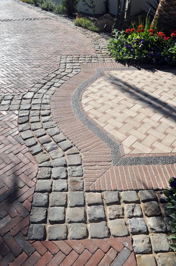 Walkway Tile Design